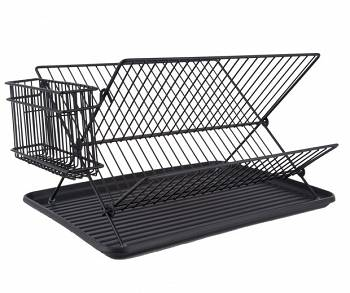 Suszarka do naczyń Dish rack matt black  by pt,