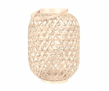 Lampion Lattice Bamboo natural L by pt,
