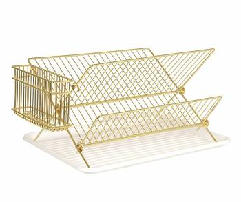 Suszarka do naczyń Dish rack gold plated  by pt,