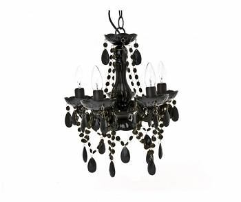 Lampa wisząca Chandelier Gypsy Small black by  Leitmotiv