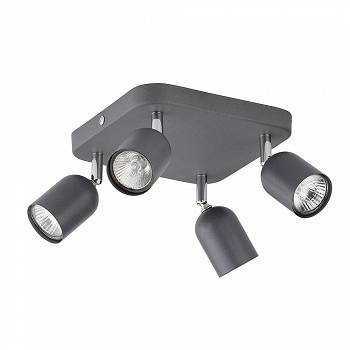 Lampa sufitowa Top IV graphit