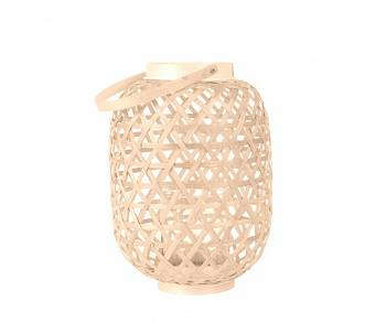 Lampion Lattice Bamboo natural M by pt,