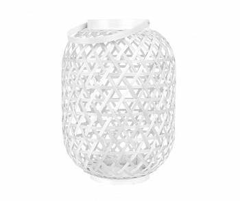 Lampion Lattice Bamboo white L by pt,