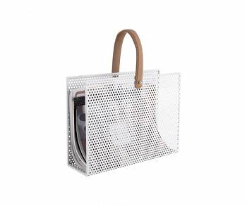 Gazetnik Perky Mesh iron white by pt,