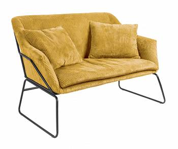 Sofa Glam curry yellow by Leitmotiv