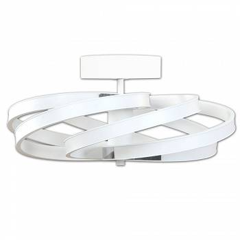 Lampa sufitowa, plafon Zoya 5651PL z pilotem by Lis Lighting