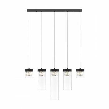 Lampa sufitowa Gem black by Zuma Line