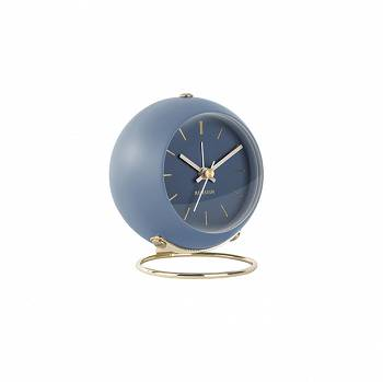 Budzik Globe Small blue by Karlsson