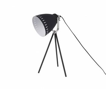 Lampa stołowa Mingle 3 legs black/silver by Leitmotiv