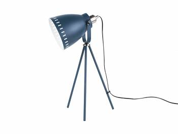 Lampa stołowa Mingle 3 legs blue by Leitmotiv
