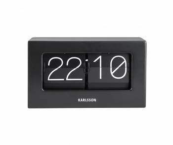 Zegar stołowy Flip Clock Boxed black by Karlsson