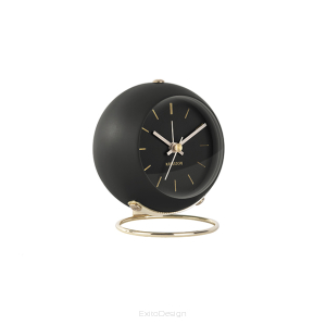 Budzik Globe Small black by Karlsson