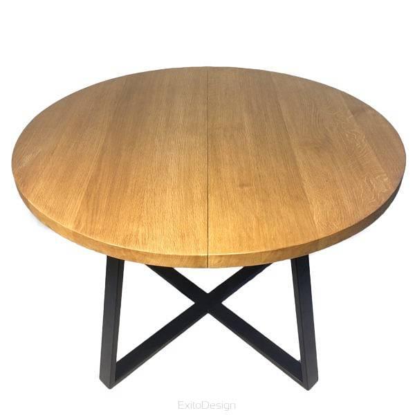 Stół Industrialny Rozkładany Okrągły St 45 R By Ng4u Sklep