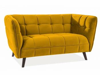 Sofa Castello 2 velvet curry
