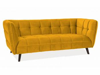 Sofa Castello 3 velvet curry
