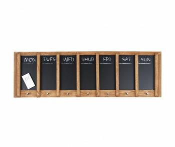 Tablica Weekplanner Wood by pt,