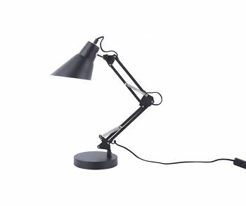 Lampa stołowa Fit black by Leitmotiv