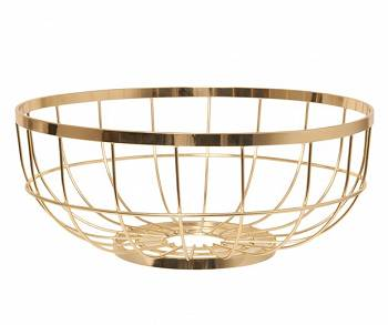 Patera Open Grid metal gold by pt,