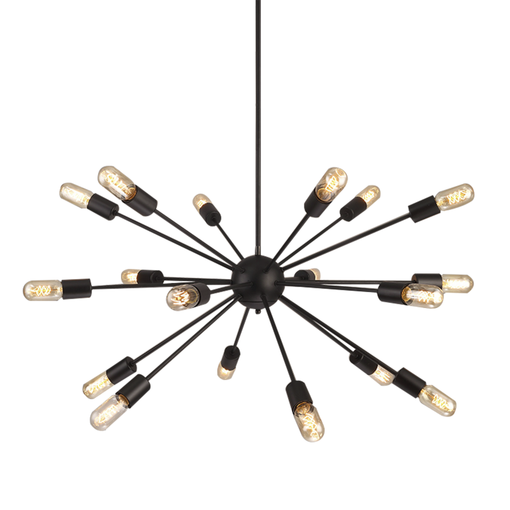 Lampa wisząca ORBIT black by AZzardo
